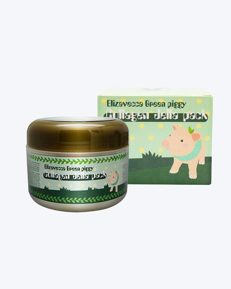 Elizavecca Гелевая коллагеновая маска Green Piggy Collagen Jella Pack