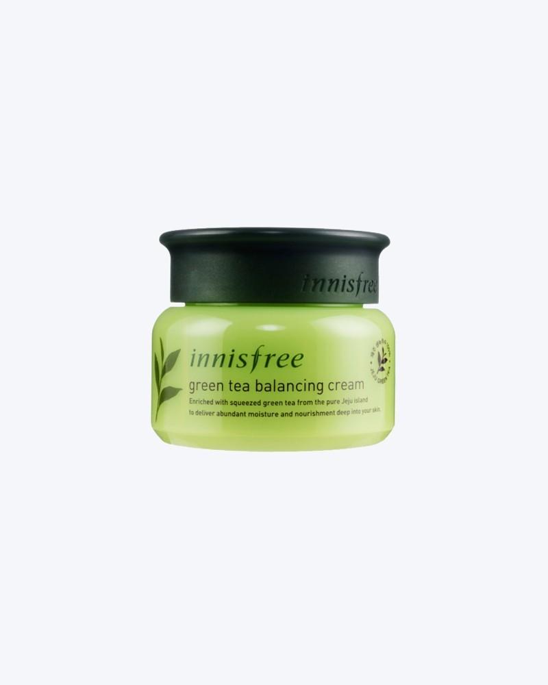 Innisfree Крем для лица с экстрактом зеленого чая Green Tea Balancing Cream