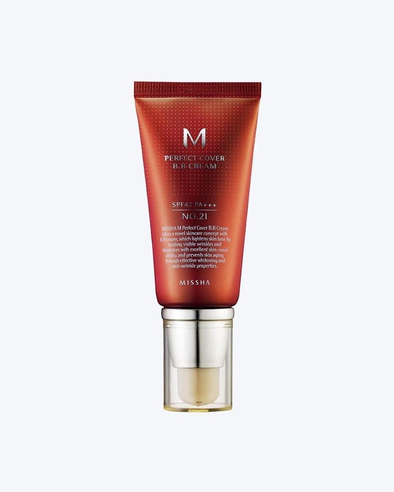 Missha ВВ-крем M Perfect Cover BB Cream (21 Light Beige)
