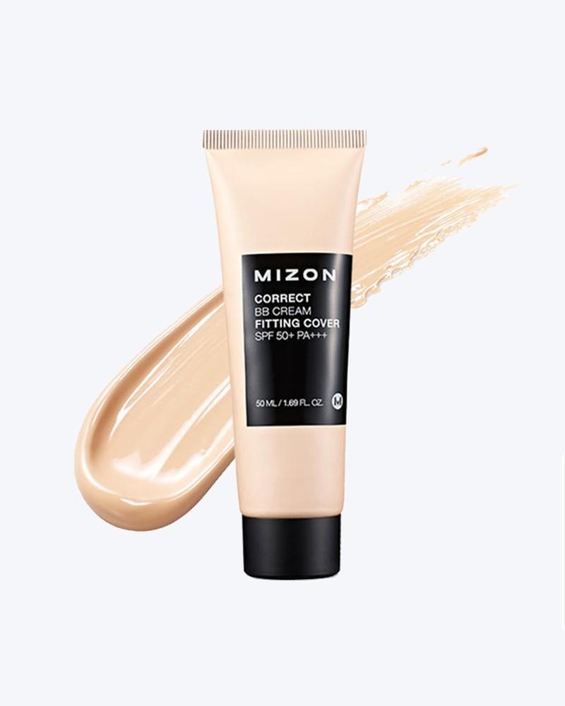 Mizon Корректирующий ББ крем с антивозрастным и увлажняющим эффектом Correct BB Cream Fitting Cover SPF 50+ PA+++
