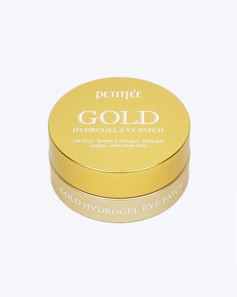 Petitfee Гидрогелевые патчи с экстрактом золота Gold Hydrogel Eye Patch