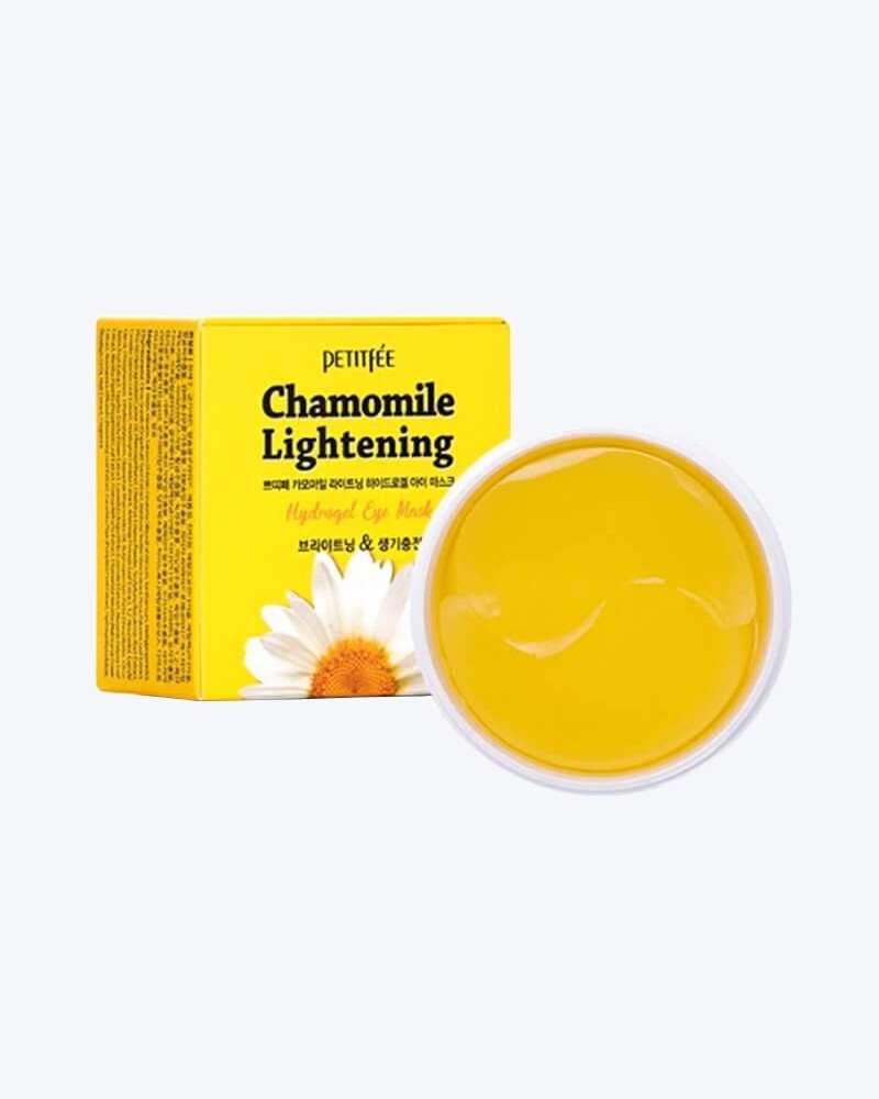 Petitfee Патчи для глаз с экстрактом ромашки Chamomile Lightening Hydrogel Eye Patch